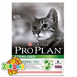 Pro Plan (Проплан) Sterilised. С лососем, корм для кастрированных котов, 1,5 кг
