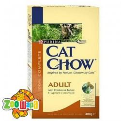 Cat Chow (Кэт Чау) С курицей и индейкой 15 кг