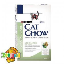 Cat Chow (Кэт Чау) Sterilized. Для стерилизованных кошек 1,5 кг