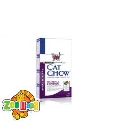 Cat Chow (Кэт Чау) Hairball. Против образования волосяных комков шерсти в желудке 1.5 кг