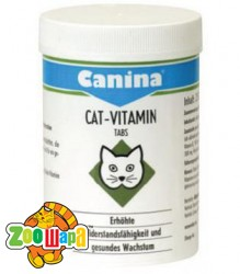 Canina Cat-Vitamin Tabs 250 табл