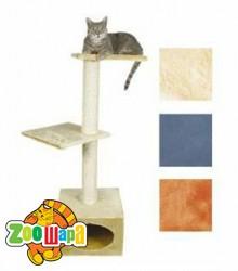 """Trixie домик для кошек """"Badalona"""" (чёрный/фуксия) 109 см"""