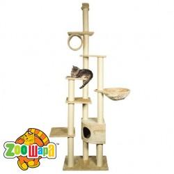 """Trixie домик для кошки """"Madrid"""" (бежев.) 245/270 см"""