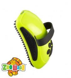 FURminator Расческа-щетка резиновая для собак и кошек