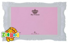 "Trixie Коврик ""My Princess"" под миски розовый 44*28см"