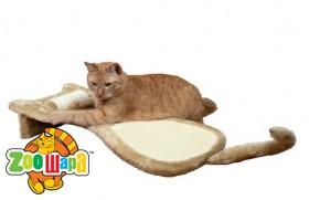 """Trixie драпак для кошек напольный """"Кот"""", 34x67х11 см, беж"""