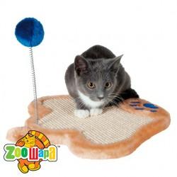 Trixie драпак для кошки с игрушкой на пружиной 36х34 см