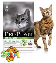 Pro Plan (Проплан) Sterilised. С лососем, корм для кастрированных котов 400 гр