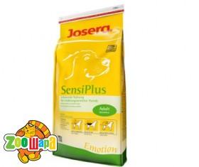 Josera SensiPlus (сенси плюс) Adult для взрослых склонных к аллергии и пробл. с пищевар. (утка-рис) 4 кг