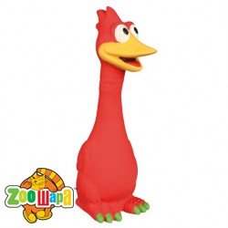 Trixie птица с длинной шеей(латекс)20см