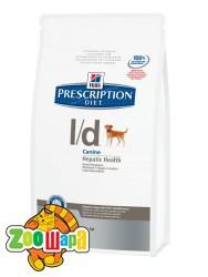 Hill's Сухой корм Prescription Diet L/D при заболеваниях печени (2 кг)