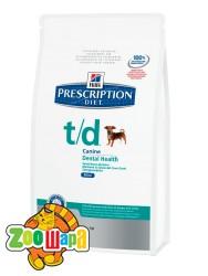 Hill's PD Canine T/D mini 3 кг