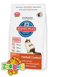 Hill's SP Fel Adult HairballControl для взрослой кошки 1,5 кг