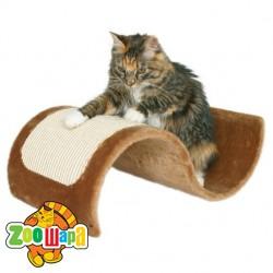 "Trixie драпак для кошки ""Wavy"" плюш (коричн.) 50х29х18 см"