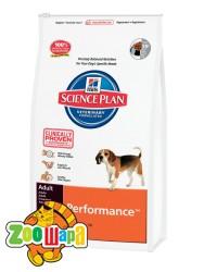 Hill's Сухой корм для взрослых активных и рабочих собак Science Plan Adult Performance при больших нагрузках (12 кг)