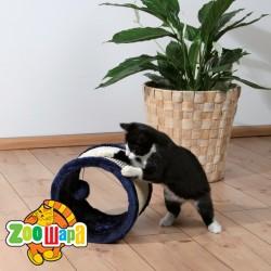 Trixie драпак-колесо для кошки (плюш ) 23х20 см
