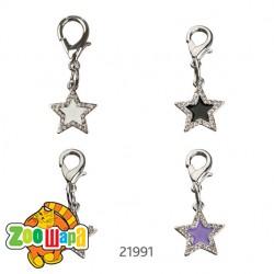 Trixie брелок с камнями (звезда)19х19мм