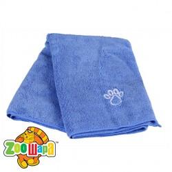 Trixie полотенце д/животных, 50х60см, синий