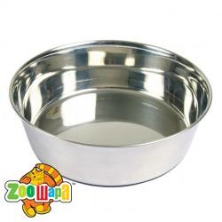 Trixie миска для собак (металл) 1,7 л Ø21 см, основа резина