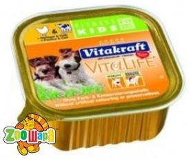 Vitakraft VitaLife Fitness д/щенков курица, 150 гр