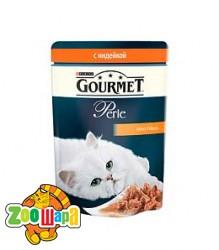 Gourmet Perle   с индейкой . 85 г