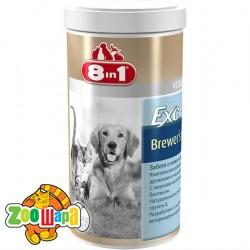 8in1 Пивные дрожжи с чесноком для собак и кошек Excel Brewers Yeast (780 таблеток) комплекс витаминов и микроэлементов