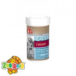 8in1 Кормовая добавка для собак с кальцием Excel Calcium (155 таблеток)