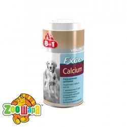 8in1 Кормовая добавка для собак с кальцием Excel Calcium (1700 таблеток)
