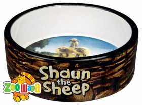 "Trixie ""Shaun the Sheep"" Миска керам. ""Shaun herd"" 0,8л/16см коричневая"