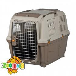 """Trixie Переноска для собак """"Skudo 5"""" (размер M - 59×65×79 см, до 35 кг) коричневый / песочный"""