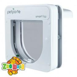 """Trixie дверца для кота """"Smart"""" автомат бел"""