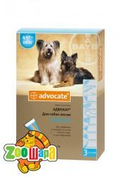 Bayer Advocate для собак весом от 4 до 10 кг, 1 пипетка
