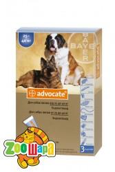Bayer Advocate для собак весом свыше 25 кг, 1 пипетка