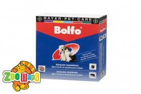 Bayer Bolfo ошейник для кошек и собак мелких пород, 35 см