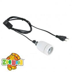 Trixie Патрон для лампы 250W с кабелем 1,8м