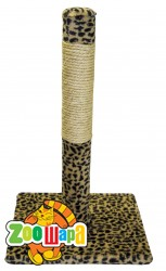 МиС КиС Когтеточка для кошек Столбик 55 см