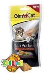 Gimpet Nutri Pockets д/кошек Кошачья мята + Мультивитамин  60г