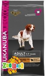 Eukanuba корм для взрослых собак мел/ср пород ягн/рис 2,5кг