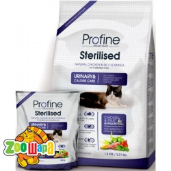 PROFINE Sterilised 300 г, курица и рис д/кастриров.