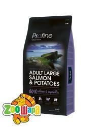 PROFINE Adult Salmon 15 кг, лосось гипоалергенный