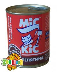 МиС КиС Мясные деликатесы Мис Кис с телятиной в желе 370 мл жесть
