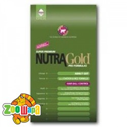 Nutra  Gold Hairball Control (вывод шерсти) 18.14kg