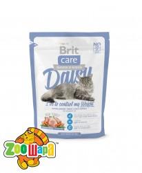 Brit Care Сухой корм для кошек с избыточным весом Daisy I have to control my Weight  (0,4 кг) с индейкой и рисом