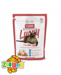 Brit Care Cat 0,4 kg Lucky I am Vital Adult (д/взрослых кошек)