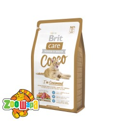 Brit Care Care Cat 2 kg Cocco I am Gourmand (д/привередливых кошек)