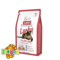 Brit Care Сухой корм для взрослых кошек всех пород Lucky I am Vital Adult  (2 кг)