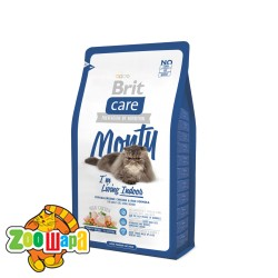 Brit Care Cat 7 kg Monty I am Living Indoor (д/кошек живущих в помещении)