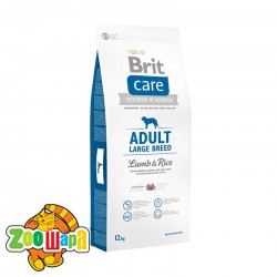 Brit Care Adult Large Breed Lamb & Rice 12 kg (д/собак весом от 25 кг)