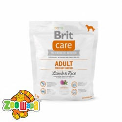 Brit Care Adult Medium Breed Lamb & Rice  1 kg (д/собак весом от 10 до 25 кг)