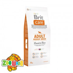 Brit Care Care Adult Medium Breed Lamb & Rice 12 kg (д/собак весом от 10 до 25 кг)
